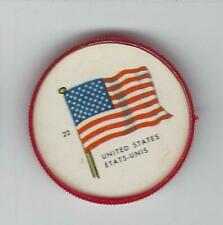 1963 General Mills Flags of the World Premium Coins #22 United States