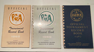 1965 1966 1967 PGA of America TOUR Book Media Guide RARE Palmer Nicklaus Player