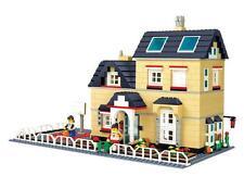 Creation City Villa House w/ Basket Ball Court Compatible Building Bricks 755pcs