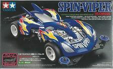 TAMIYA 1:32 MINI 4WD SPIN VIPER SPINVIPER CON MOTORE E VS CHASSIS  ART 19429