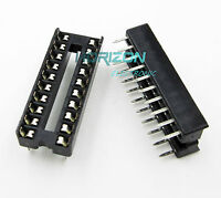 100PCS 20 Pin Integrated Circuit IC Sockets Adaptor Solder Type