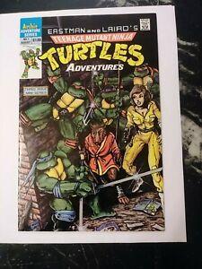 Teenage Mutant Ninja Turtles Adventures #1 - Archie 1988 8.0 1st comic book