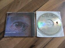 JOHN PARR Man With A Vision OOP 1992 EUROPEAN CD single
