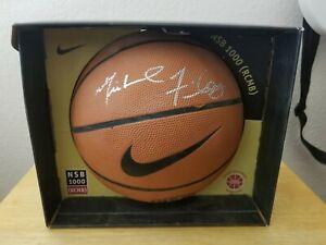 Michael Finley Signed NBA Nike Basketball Signed