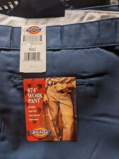 W56 x L32 Navy Blue Dickies Work Pants New with Tags, Read Description