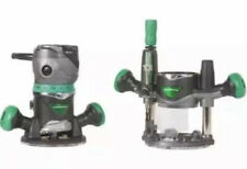New Metabo Variable Speed Fixed Plunge Router Kit 2-1/4 Peak -HP