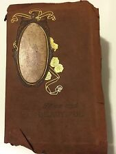 TRUE AND BEAUTIFUL By John Ruskin Leatherbound 1886 MM Caldwell NY RARE!