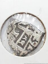 17th Century Piece Of Eight Spanish Dollar Reales Silver Antique Coin