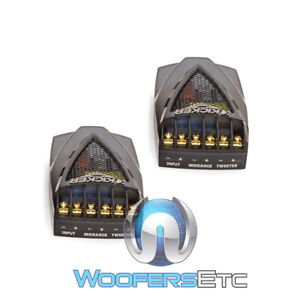 KICKER CROSSOVERS FROM KS5.2 COMPONENT SET 2-WAY FOR CAR MIDRANGE & TWEETERS NEW