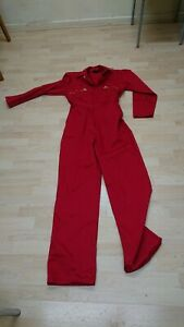 Dickies Ladies Or Mens Red Colour Boilersuit Or Overalls.