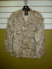 USMC US MARINE COMBAT DESERT DIGITAL MARPAT JACKET SMALL-XX-SHORT FORCE RECON