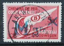 BELGIUM 1939 Railway Parcels: Soldiers Parcels Surch. Set of 1. Fine USED SGP867