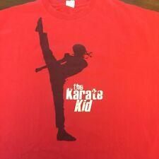 The Karate Kid 2010 Movie Mens XL T-Shirt Red Jaden Smith Poster Art