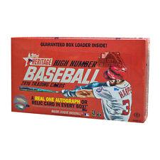 2016 Topps Heritage High Number Baseball Hobby Box* Factory