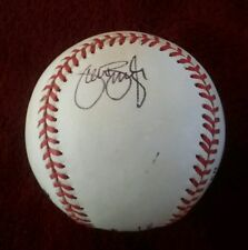 SEAN BURROUGHS Autographed Rawlings Official NL Baseball PADRES