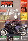 MOTO JOURNAL 1069 Essai Test Triumph 900 Trophy YAMAHA FJ 1200 SUZUKI GSX 1100