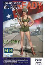 "1:24 Master box 24003 - ""Alice"" U.S. Army - Pin-Up Series Kit #3 Model Kit"