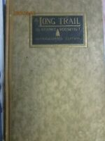 1921 THE LONG TRAIL Teddy Roosevelt's Son Kermit Signed Big Game Hunting Book