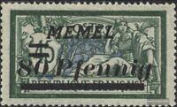 Memelgebiet 63 postfrisch 1922 Freimarken