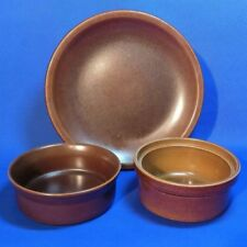 Stoneware Brown Pottery Bowls