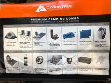 Ozark Trail 28-Piece Premium Camping Combo Set Sleeps 6 Chairs Lantern Backpack