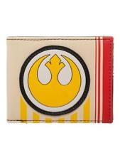 STAR WARS - THE LAST JEDI - REBEL ALLIANCE SYMBOL RETRO THEMED BI-FOLD WALLET