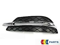 NEW GENUINE MERCEDES BENZ MB W204 C CLASS AVANTGARDE FRONT LOWER DRL GRILL LEFT