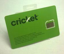 Brand New Unactivated Cricket Wireless Micro Sim Card 711868001671
