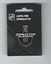 Calgary Flames 2017 NHL Stanley Cup Playoffs Lapel Pin