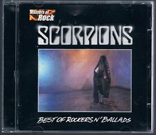 SCORPIONS BEST OF ROCKERS N' BALLADS CD F.C.  COME NUOVO!!!