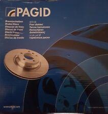 Pagid 54305 Rear 265mm Solid Brake Disc MAZDA 3 1.6 1.6 DI TURBO 03-09