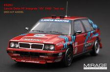 1:43 HPI DIECAST #8283 Lancia Delta HF Integrale 16V 1989  Test car