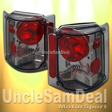 CHEVY SUBURBAN BLAZER GMC C/K TRUCK ALTEZZA SMOKE LENS CHROME TAIL LIGHTS PAIR
