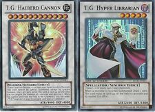 T.G. 50  Card Lot - Magician - Hyper Librarian - Striker + Bonus - Yugioh