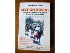 Section bordel, la guerre d'Algérie d'un appelé 1958, JP Duval, Heimdal 1998