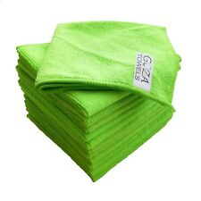 """Goza Towels Microfiber Towel Cleaning Cloths All-Purpose 12""""x12"""" (12 Pack)"""