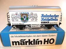 Märklin 4415 H0 SoMo Kühlwagen  Kulmbacher  Eisbock mit OVP#4823