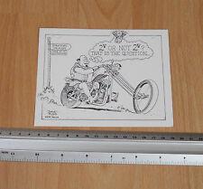 V Twin Postcard Sketch by Dave Rudd
