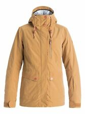 Roxy Torah Bright Andie Snow Jacket Tan Size S rrp £232 DH089 DD 11