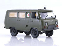 UAZ-452A Ambulance Soviet Microbus 1965 Year 1/43 Scale Collectible Model Car