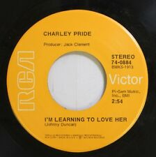 Country 45 Charley Pride - I'M Learning To Love Her / A Shoulder To Cry On On Rc