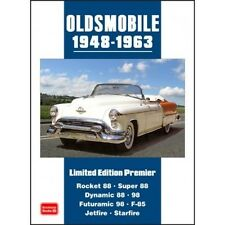 Oldsmobile Limited Edition Premier 1948-1963 book paper
