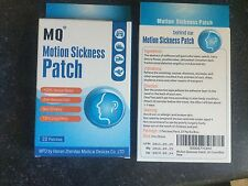 Box Motion Sickness (10) patches USA Seller Herbal Car Cruise Ship FAST FREE SHI