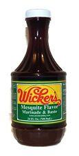 Wickers Sauce Mesquite Flavor Marinade & Baste Bbq, 24-ounce