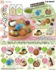 Re-Ment Sumikko Gurashi Snack Mascot Miniature Complete BOX of 8 (0824)
