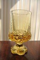 Vintage Tiffin Franciscan Cornsilk Yellow Madeira Wine Goblet