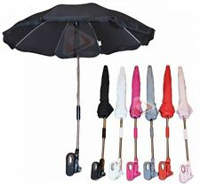 "26""Universal Flexible Foldable Baby Umbrella Parasol Any Pram Pushchair Stroller"