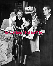Time for Beany negative with photo Emmy Awards early 1950s vintage TV puppets