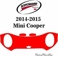 3M Scotchgard Paint Protection Film Clear Bra Pre-Cut Kits 2014 2015 Mini Cooper