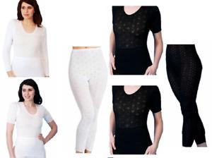 Ladies/Women's Thermal Underwear Short Long Sleeve Built up Spencer  Long John